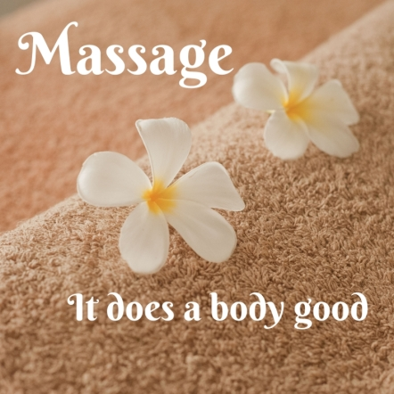 Massage - It does a body good blank biz info